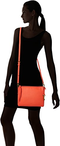 81x21 x Orange T B Emma 59x24 cm Bag 3 Cross Womens H 77 Body Fossil Lava nOBwa8ZZq
