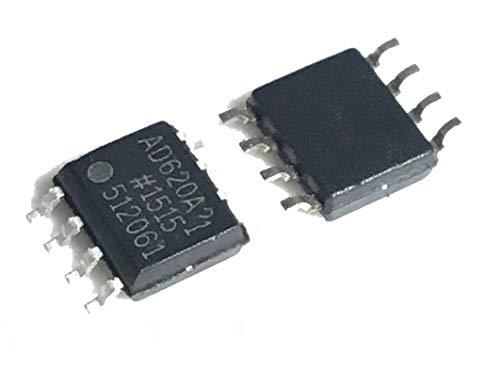 5 PCS NEW AD620ARZ AD620 chip instrumentation amplifiers SOP-8