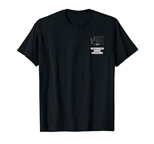 Washington Correctional Officer Thin Silver Line -