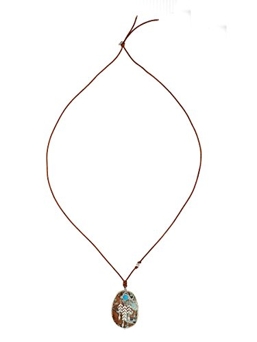 Chan Luu Turquoise Mix Charm Pendant Necklace