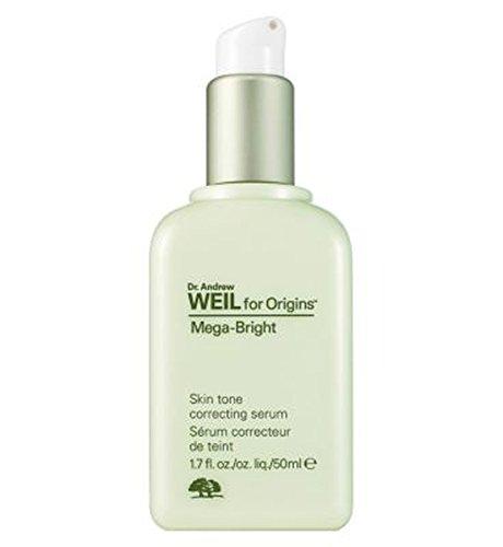 Origins Dr Weil Mega-Bright Skin Tone Correcting Serum 50ml - 起源のDrワイルメガ明るい肌色補正血清50ミリリットル (Origins) [並行輸入品]   B01M4RV2E4
