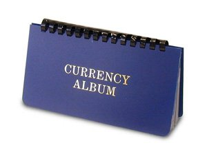Whitman Currency Album Large - Banknote Wallet - By Harris