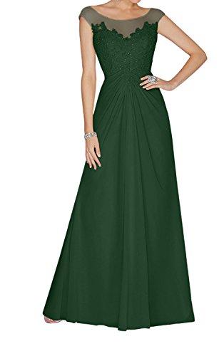 Lang Perlen Gruen Ballkleider Charmant Abendkleider und Pailletten Dunkel Promkleider Anmutig mit Spitze Damen Lilac 1pPwZq6U