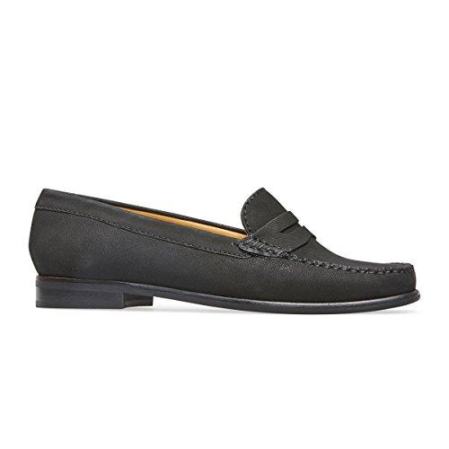 Van Dal Womens Hampden II Sh Nubuck Leather Loafers Black AlK44H5V