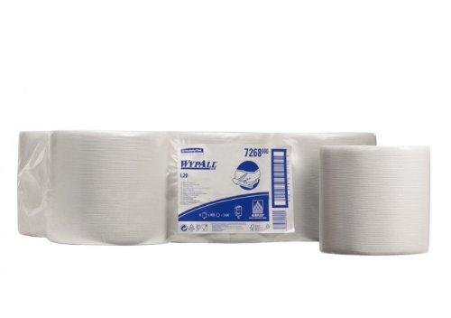 Kimberly-Clark WYPALL L20 Ruitenwissers – Centrefeed Roll – Wit – 6 rollen x 400 vellen + GRATIS UK leveren