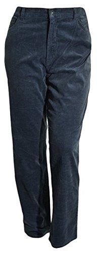 Gloria Vanderbilt Womens Classic Fit, Tapered Leg, Tummy Slimmer Corduroy Pants (16 Short, Slate Sunrise)