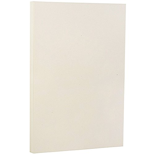 Recycled Paper Ivory (JAM PAPER Recycled Legal 28lb Paper - 8.5 x 14 - Genesis Husk Light Brown - 100 Sheets/Pack)