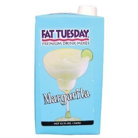 Fat Tuesday Drink Mix Margarita Mix 32OZ Sold Each #FTMARG32-S