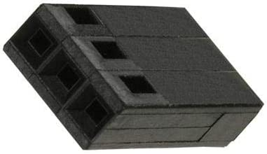 1 Rows Pack of 50 2.54 mm AMPMODU Mod IV Series Receptacle 3 Contacts 87499-6 87499-6 Wire-To-Board Connector