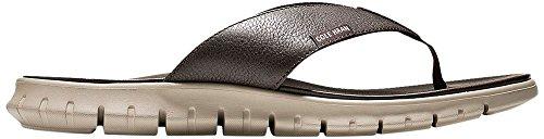 Cole Haan Flip Flops - Cole Haan Men's Zerogrand Sandal Flip-Flop, Java/Cobblestone, 10 Medium US