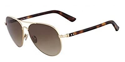 Calvin Klein CK7377S Rose Gold Size: 58 Sunglasses