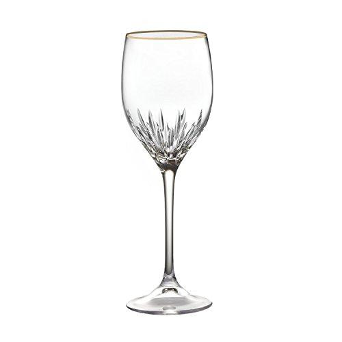 Vera Wang Wedgwood Duchesse Wine, Gold Vera Wang Crystal Goblet