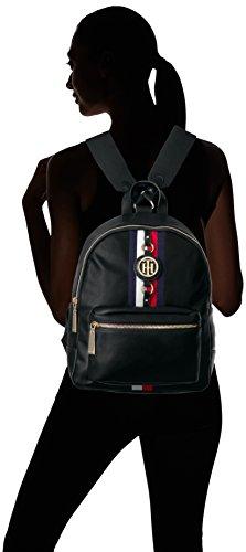 Tommy Hilfiger Backpack for Women Jaden, Black Polyvinyl Chloride by Tommy Hilfiger (Image #4)