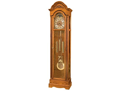 Howard Miller Hartford Floor Standing Grandfather Clock, Legacy Oak by Howard Miller