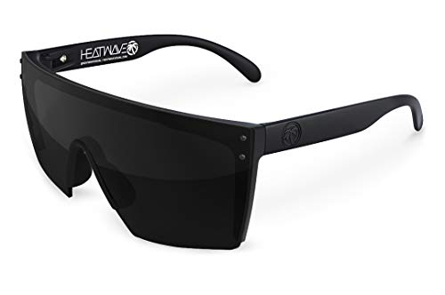 Heat Wave Visual Lazer Face Z87 Sunglasses in Black