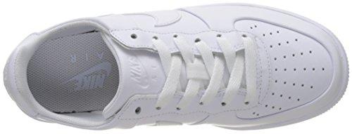 Nike White, Zapatillas de Deporte para Niños Blanco (White / White-White)