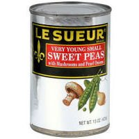 Le Sueur Sweet Peas with Mushrooms and Pearl Onions by Le Sueur (Image #1)