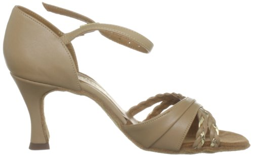 Jazz International gold Dance Calf Danza beige Donna Bianco Calf Shoes qr8t0r
