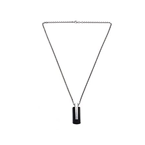 MONTBLANC STERLING SILVER & TITANIUM PU NECKLACE PENDANT 103137 NEW GERMANY