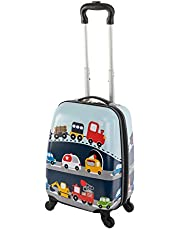 Travelhouse Happy Childreen barnresväska vagn resväska resevagn olika storlekar och färger