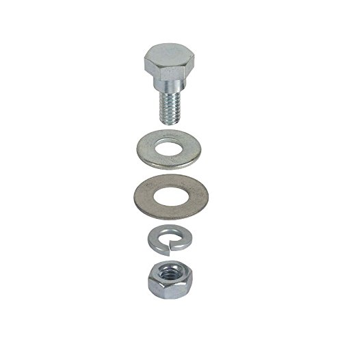 MACs Auto Parts 32-23074 Trunk Lid Support Arm Bolt Set - Ford Coupe, Can Be Used OnRoadster & Cabriolet - 5 Pieces by MACs Auto Parts