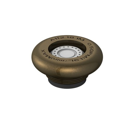 Danze DA500209NBR Junior Male Spray Faucet Aerator Kit, 0.5 GPM, Tumbled Bronze