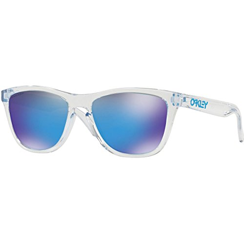 Oakley Men's Frogskins Sunglasses,Crystal Clear
