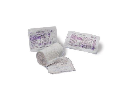 Kerlix AMD Antimicrobial Gauze Bandage Rolls by Kendall ( DRESSING, KERLIX, RL, AMD, 4.5''X 4.1YD, TRAY ) 60 Each / Case by Kendall