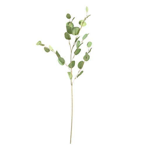 AKIMPE Artificial Fake Flower Faux Greenery DIY Decorations Forever Petals Long Stem Vine Preserved Gift for Wedding Party Home Birthday Garden Her Women Green from AKIMPE