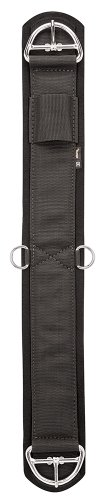 Western Saddle Girth - Weaver Leather Felt Lined Deluxe Super Cinch