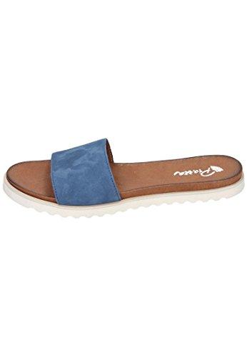 Piazza Piazza Damen Pantolette - Zuecos de Piel para mujer azul azul Azul