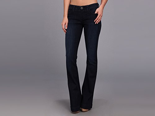 True Religion Women's Charlize Low Rise Flare Jean, Picasso Blues, 29