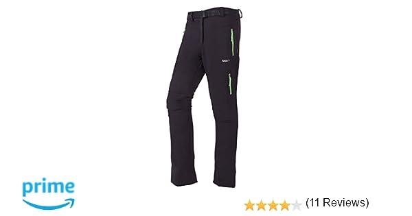 Furco Milan - Pantalones para mujer, color negro/verde claro, talla XL: Amazon.es: Zapatos y complementos
