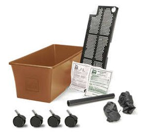 [EarthBox 1010011 Garden Kit, Terra Cotta] (Tomato Growing Containers)