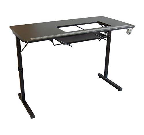 SewingRite 101 SewStation Sewing Craft Table – Black