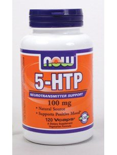 Now Foods 5-HTP 100 mg - 120 Vcaps 6 Pack by NOW Foods