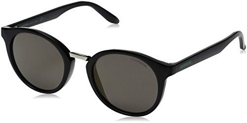 Carrera Men's Ca5036s Round Sunglasses, Dark Gray/Gunmetal Mirror, 49 mm