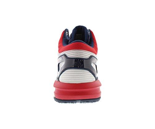 Adidas Gekke Lichte Boost Heren Schoenen Maat Wit / Scarlet / Navy