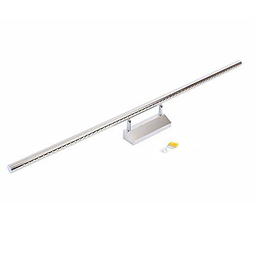 LED Spiegellampe 3-15W Einstellbar 5050SMD Spiegelleuchte Badlampe Spiegellicht (15W/100cm)