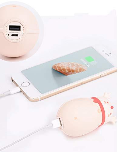 Soul elettrico senza ricarica Po Warmer acqua di Regalo Hand USB Natale portatile di XnqFg4XR