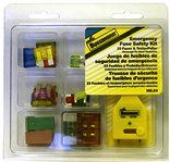 Bussmann NO.24 Emergency Automotive Blade Fuse Safety Kit - 23 Assorted Fuses + Tester/Remover, 1 Pack