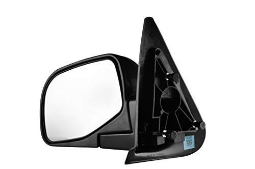 Driver Side Textured Side View Manual Operated Non-Heated Mirror for 1998-2001 Mazda B2500 B3000 B4000, 2001-2003 Mazda B2300, 1998-2005 Ford ()