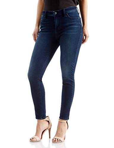 Lucky Brand Women's Mid Rise Ava Skinny Jean, Indigo Sparks, 28W X 27L