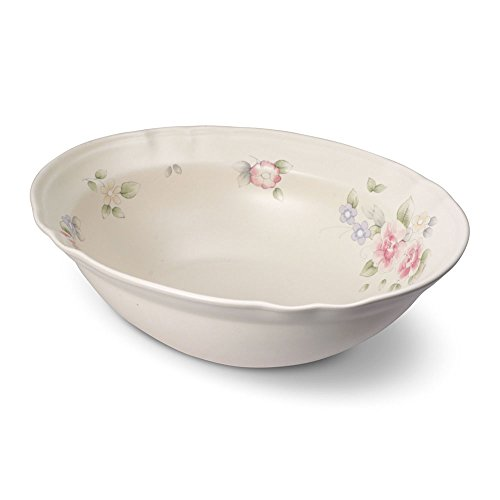 Pfaltzgraff Tea rose Oval Vegetable Bowl