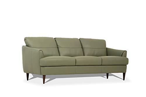 ACME Furniture 54570 Tacoma Sofa, Moss Green Leather