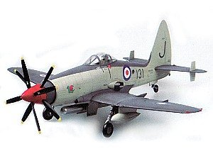 Early Version Fighter (Trumpeter 1/48 Wyvern S4 Early Version British Fighter Model Kit)