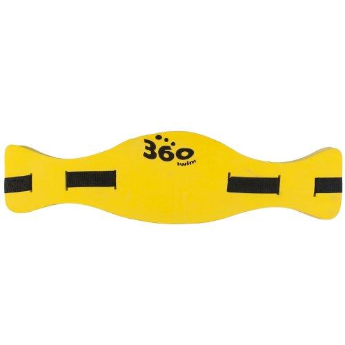 360 Swim Bartisan Ceinture de flottaison/d'aide à la nage pour senior Jaune