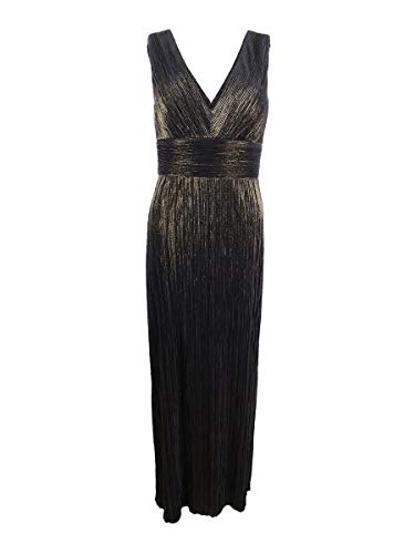 Jessica Howard Womens Cocktail Formal Evening Dress Gold 12