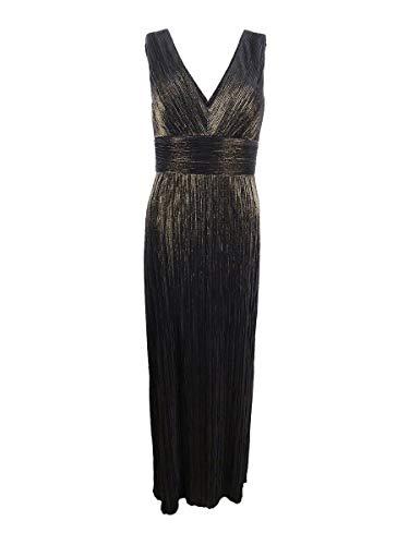 - Jessica Howard Womens Cocktail Formal Evening Dress Gold 10