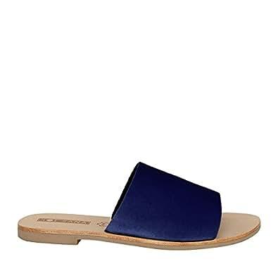Sol Sana Women's Teresa Slide, Blue (Navy Velvet), 35 EU